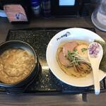 らーめんチキン野郎 - 石焼ニボつけ麺