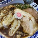 風は南から - 料理写真:醤油ワンタン麺