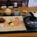 播磨水産 - 本日の寿司ランチB