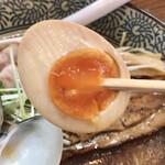 Ramen611 - とろ〜り味玉✨