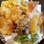 145567730 - 天ぷら6種