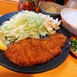 みやこや - 料理写真:おろしとんかつ定食(¥1,300)