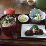 14557019 - 割子そば定食(1170円)