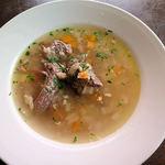 14557405 - 本日の前菜 牛のスープ