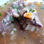 14557407 - 本日の前菜 牛のスープ