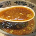 陸 - 柚子胡椒の風味と唐辛子のピリッとした辛さがイイ。