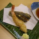 志天 - 天ぷら 海老とナス