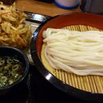 香の川製麺 - ざるうどん大盛り