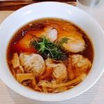 中村麺三郎商店 - 海老ワンタン醤油らぁ麺