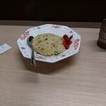 長浜ナンバーワン  - 料理写真:セットの半チャーハン