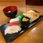 145579071 - おまかせ寿司6貫