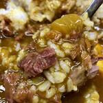 牛すじカレー 小さなカレー家 - ✨玉葱の甘味❤️米の炊き具合,硬めでgood✨