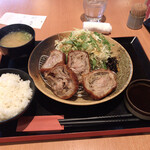 薬膳鍋 豚しゃぶ専門店 西谷 - きんぴらごぼうのミルフィーユカツ