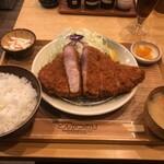 豚肉料理専門店 とんかつのり - 特上ロースかつランチ(2000円)