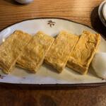 そばと和食のお店 神楽 本店 - 那須直送の玉子を使った出し巻き玉子