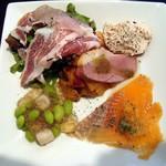 フィオリーレ - 料理写真:B pranzo アンティパスト 6種&サラダ