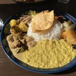エイケイコーナー - 料理写真:スリランカカレー 1,400円税込