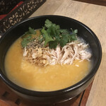 粥麺楽屋 喜々 - トムヤム鶏粥