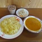 ZOU - ダル(豆)カレーAセット850円