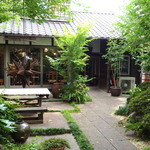14561736 - 露地の奥がカフェ