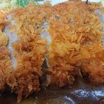 中華料理 阿Q - 揚げたてとんかつアップ