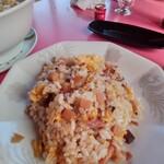 チャイナ厨房盧山 - セットのチャーハン