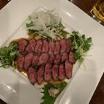 アシャール - 牛肉のたたき