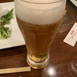 アシャール - 生ビール