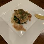 アシャール - 白身魚のムニエル