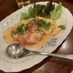 アシャール - トマトと玉子の炒め物