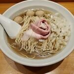 木更津 丿貫 - 煮干蕎麦+味玉