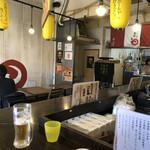 金町製麺 - 店内
