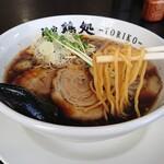麺家 鶏処 - 鶏処しょうゆ