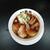 麺家 鶏処 - Aセット(鶏処しょうゆ+半チャーハン)870円