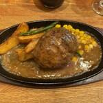 ハンバーグレストラン まつもと - ハンバーグステーキ(和風ソース)