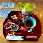 ねこがすき - 料理写真:白玉ぜんざい600円