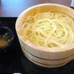 丸亀製麺 - 釜揚げうどん・大(1.5玉)