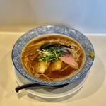 らぁ麺や 一晃亭 - 料理写真:追い煮干し中華
