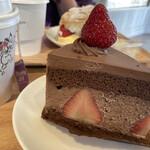 いちびこ - * いちごショコラショートケーキ 650円