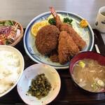 い志い食堂 - 料理写真:ミックスフライ