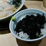 燕三条 豊潤亭 - のり茶めし 170円