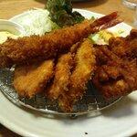 洋食亭かつ貴 - 料理写真:フライ盛り