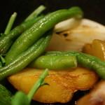 洋食コノヨシ - 付け合わせ