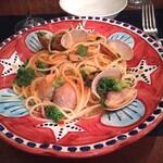 IL BALLOND'ORO - 「あさりとカラスミと菜の花のスパゲッティ」
