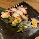 炉端と肉割烹 笹揶 - 自家製タコの干物