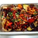 中国料理 堀内 - 料理写真:豚肉とレンコンの黒酢あん