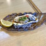 寿司と地魚料理 大徳家 - 生牡蠣ポン酢