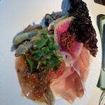 Biwa collage - パスタランチの前菜