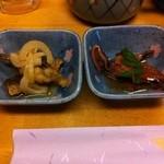 14566125 - 海鮮ちらし+一品+汁物 1000円