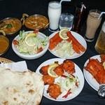 インド・ネパールレストラン&バー SAGUN - 料理写真:パーティーコース(要予約)お好みに合わせてご用意致します